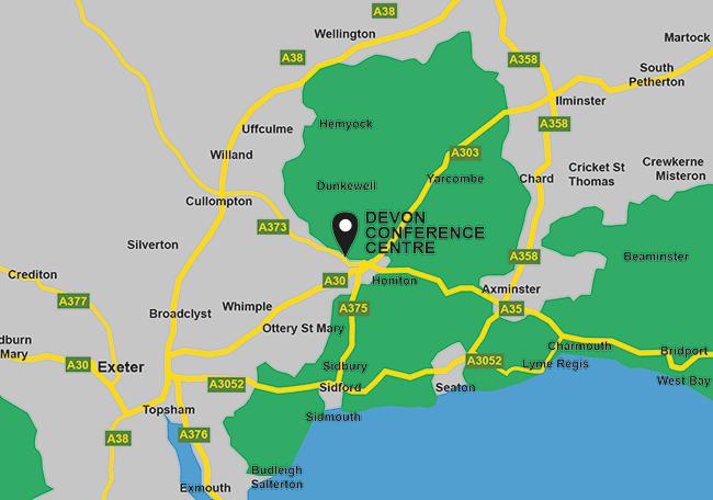 Devon Conference Centre homepageimage